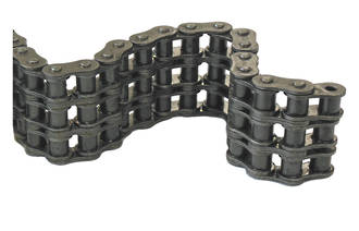 16B3AS 10FT BOX: Chain BS Triplex 1 INCH Pitch 10ft Box Includes 1 Con Link