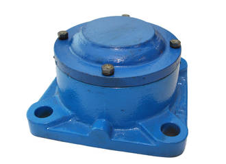 FC515A: Housing Flange 4 Bolt Blank Cover