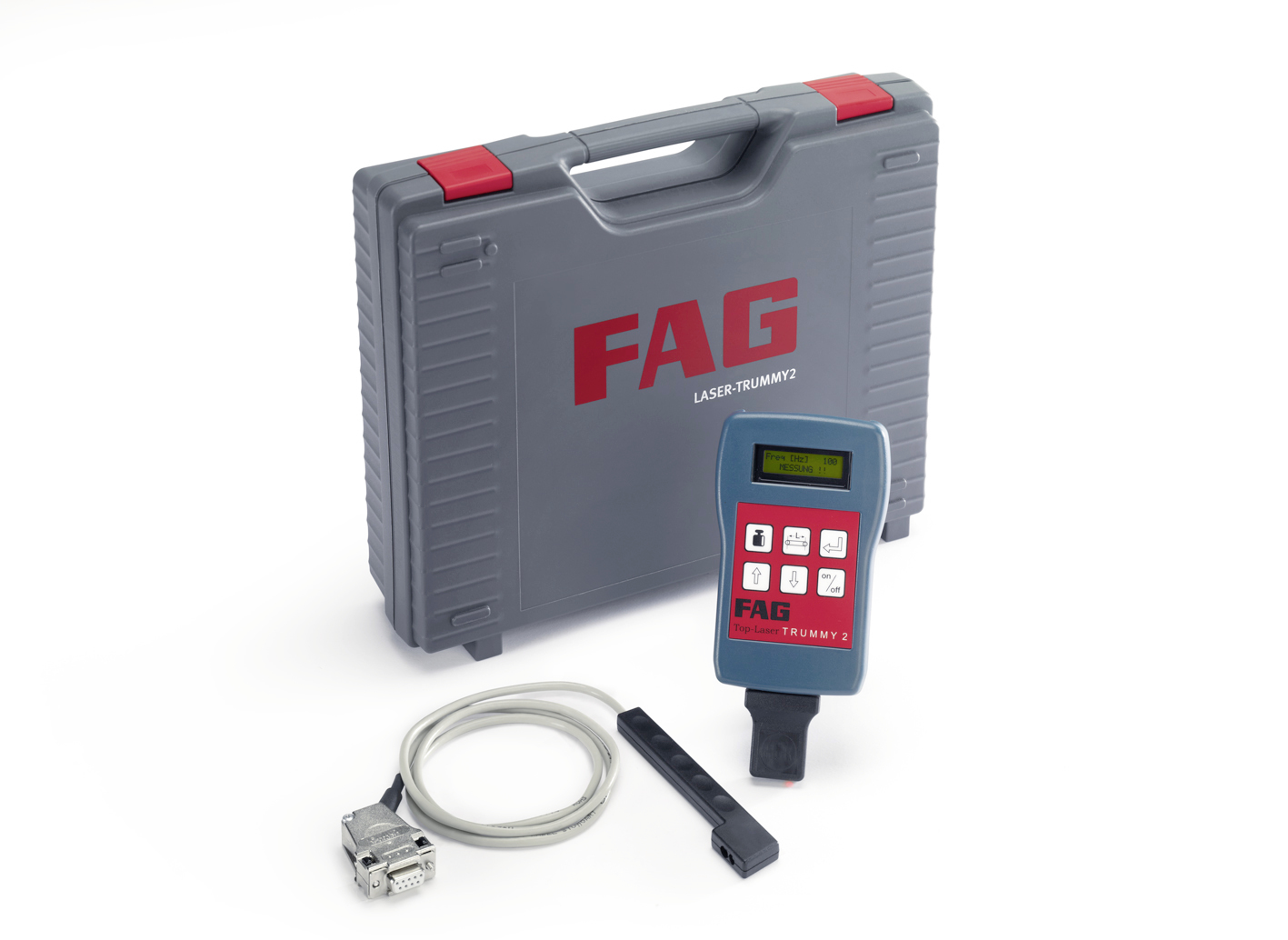 LASER TRUMMY 2: FAG Top-Laser TRUMMY2 Tool - Belt Tension Measuring Device